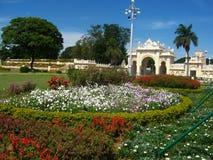 Schöner Palast Garten-II Stockfotos