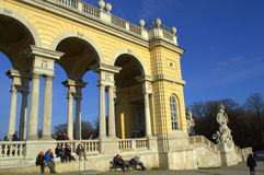 Schöner Palast Wien, Österreich Stockfoto
