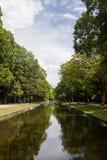 Schöner Park der Parkszene öffentlich lizenzfreie stockfotografie