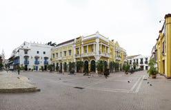 Schöner Platz in Cartagena Stockbild