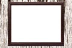 Schöner Rahmen für eine Abbildung oder irgendein Bild Stockfoto
