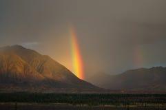 Schöner Regenbogen Stockfoto
