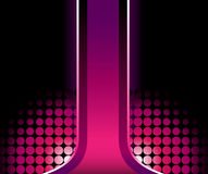 Schöner rosafarbener Streifen 3D vektor abbildung