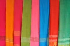 Schöner Schal für Verkauf Stockfoto