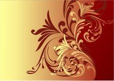 Schöner Schokoladenhintergrund Stockfoto