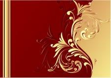 Schöner Schokoladenhintergrund Stockbild