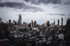 Schöner Schuss von New York stockbilder