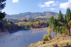 Schöner See Stockbild