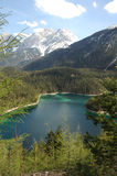 Schöner See Stockfotografie