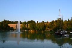 Schöner See lizenzfreie stockfotografie