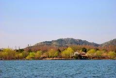 Schöner See Stockbilder