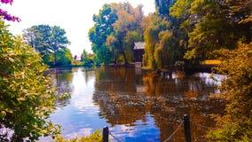 Schöner See stockfoto