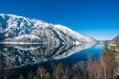 Schöner See Achensee im Winter, Österreich-Alpen in Tirol, Österreich Stockfotografie