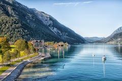 Schöner See Achensee in Tirol, Österreich Stockbild