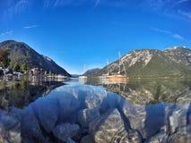 Schöner See Achensee in Tirol, Österreich Lizenzfreie Stockfotos