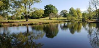Schöner See natürlich lizenzfreies stockfoto