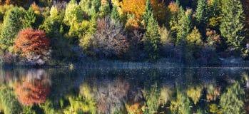 Schöner See in Nationalpark Plitvice Lizenzfreies Stockfoto