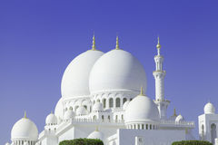 Schöner Sheikh Zayed Mosque in Abu Dhabi-Stadt, UAE Stockbilder