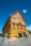 Schöner siamesischer goldener Tempel thailand Stockfoto