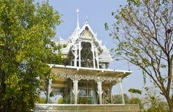 Schöner silberner Tempel lizenzfreies stockfoto