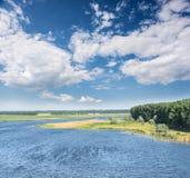 Schöner Sommer Landscap Stockfotos