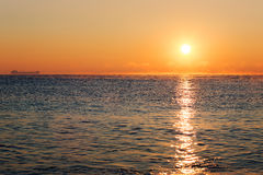 Schöner Sonnenaufgang Stockfotos