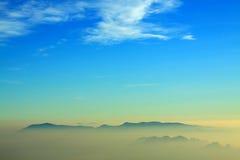 Schöner Sonnenaufgang in Thailand: Chiangmai Lizenzfreie Stockfotos