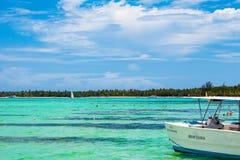 Schöner sonniger Tag in Punta Cana, 01 05 13 Lizenzfreie Stockfotografie