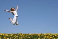Schöner Sprung Stockbilder