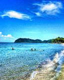 Schöner Strand lizenzfreies stockbild