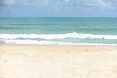 Schöner Strand Lizenzfreies Stockfoto