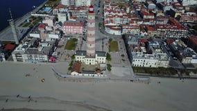 Schöner Strand stock video footage