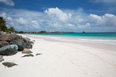 Schöner Strand Barbados Stockfotos