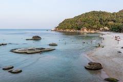 Schöner Strand bei Koh Samui Lizenzfreies Stockfoto