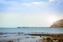 schöner Strand, Chonburi Thailand Stockfotografie