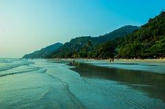 Schöner Strand Stockfoto