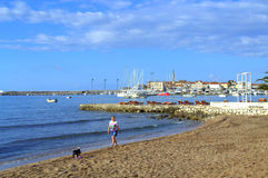Schöner Strand, Montenegro Stockfotos