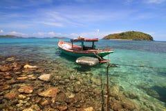 Schöner Strand in Nam Du-Inseln, Vietnam lizenzfreies stockfoto