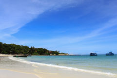 Schöner Strand, Samed Insel Stockfotografie