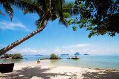 Schöner Strand in Thailand Stockbilder