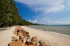 Schöner Strand in Thailand Lizenzfreies Stockbild