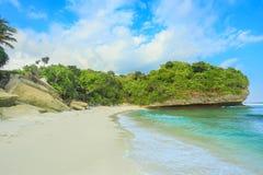 Schöner Strand von Sumba-Insel lizenzfreies stockfoto