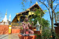 schöner Stuck auf dem Tempel von Thailand Lizenzfreies Stockfoto