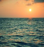 Schöner Sun und Meer Stockfotografie