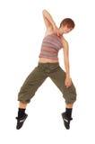 Schöner Tänzer stockbild