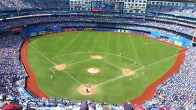 Schöner Tag für ein Ballspiel Stockbilder