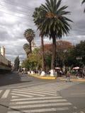 Schöner Tag im Hauptplatz von Cochabamba Stockfoto