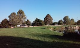 Schöner Tag am Park Lizenzfreie Stockfotografie