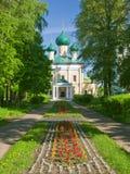 Schöner Tempel im Park Stockfoto