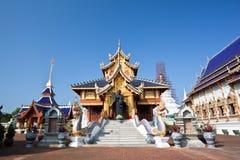 Schöner Tempel in Nordthailand Stockbild